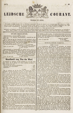 Leydse Courant 1873-04-25