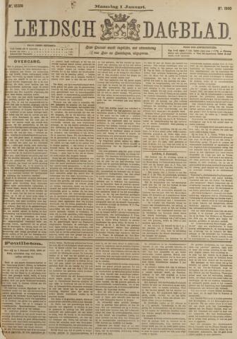 Leidsch Dagblad 1900