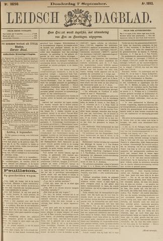 Leidsch Dagblad 1893-09-07