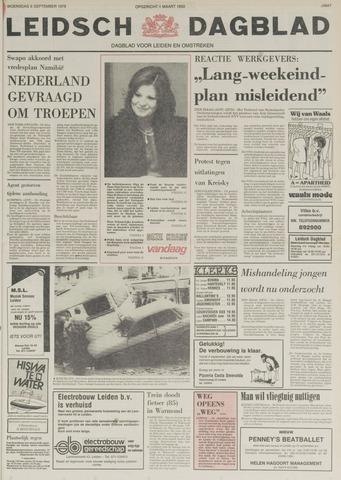 Leidsch Dagblad 1978-09-06