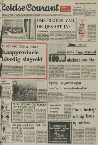 Leidse Courant 1976-09-10