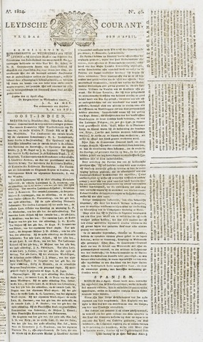 Leydse Courant 1824-04-16