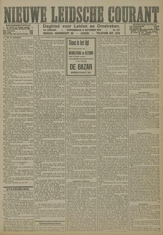 Nieuwe Leidsche Courant 1921-10-06