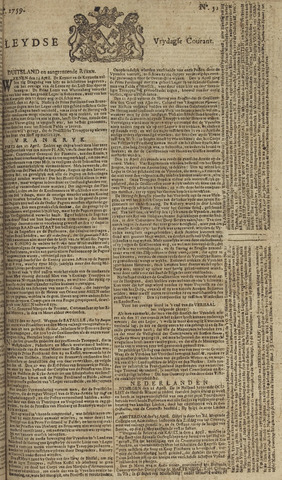 Leydse Courant 1759-04-27
