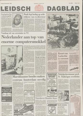 Leidsch Dagblad 1988-12-23