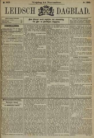 Leidsch Dagblad 1890-11-14