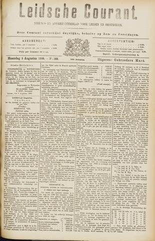 Leydse Courant 1889-08-05