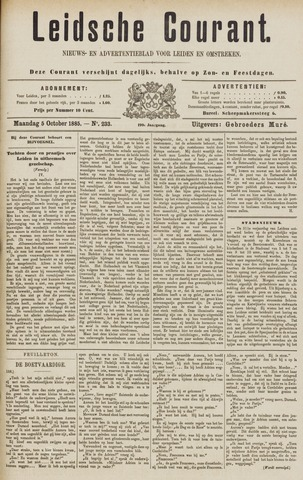 Leydse Courant 1885-10-05