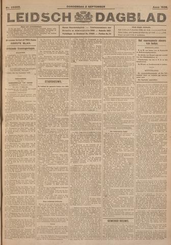 Leidsch Dagblad 1926-09-02