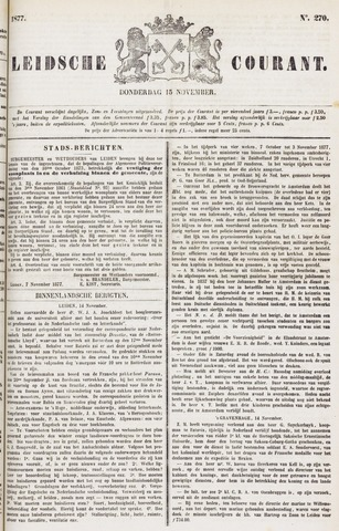 Leydse Courant 1877-11-15