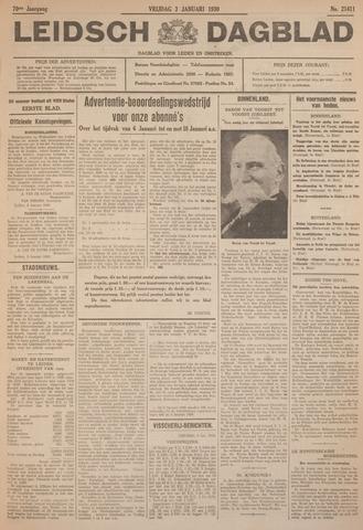 Leidsch Dagblad 1930-01-03