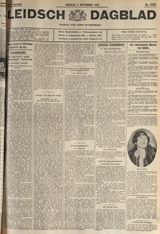 Leidsch Dagblad 1932-11-08