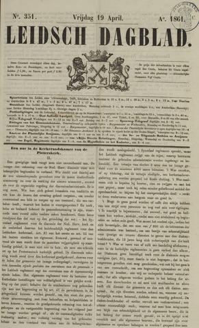 Leidsch Dagblad 1861-04-19