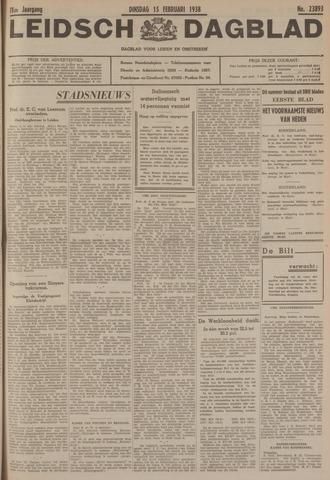 Leidsch Dagblad 1938-02-15