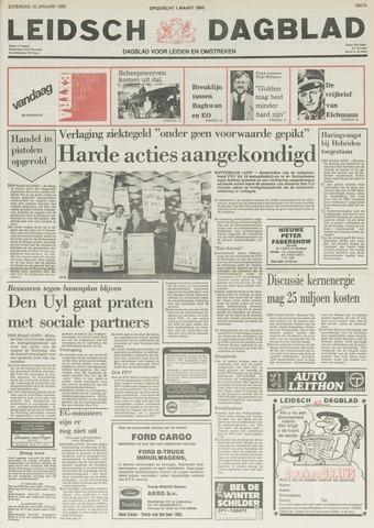 Leidsch Dagblad 1982-01-16