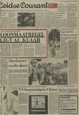Leidse Courant 1980-01-25