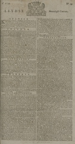 Leydse Courant 1739-03-09