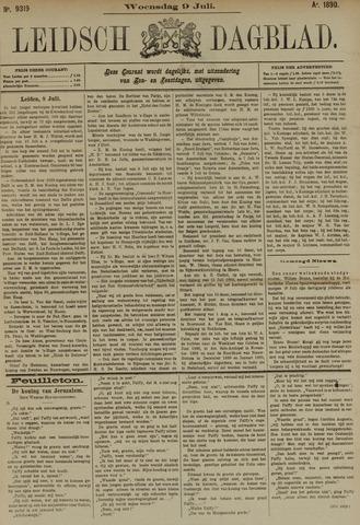 Leidsch Dagblad 1890-07-09