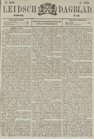 Leidsch Dagblad 1878-07-18