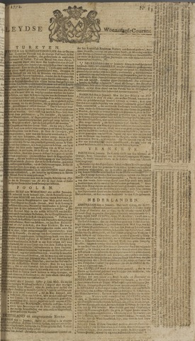 Leydse Courant 1772-01-29