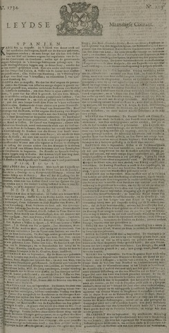 Leydse Courant 1734-09-20