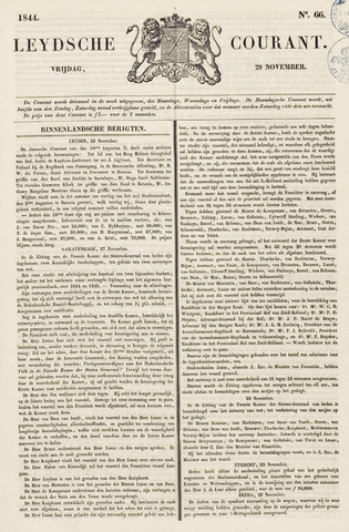 Leydse Courant 1844-11-29