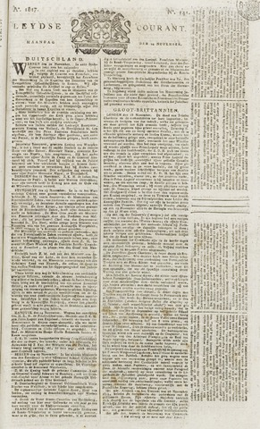 Leydse Courant 1817-11-24
