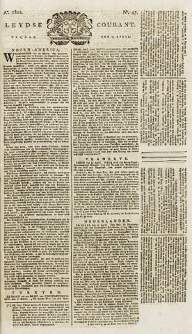 Leydse Courant 1822-04-19