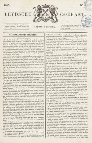 Leydse Courant 1847