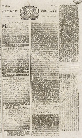 Leydse Courant 1814-09-07