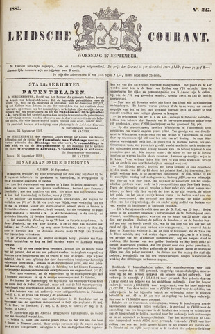 Leydse Courant 1882-09-27