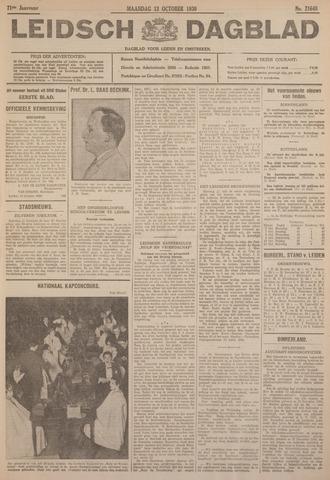 Leidsch Dagblad 1930-10-13