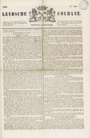 Leydse Courant 1862-11-26
