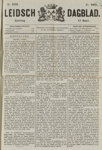 Leidsch Dagblad 1869-03-13