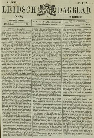Leidsch Dagblad 1876-09-16