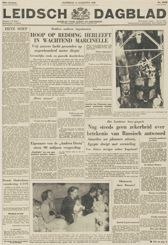 Leidsch Dagblad 1956-08-11