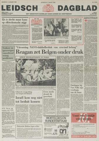 Leidsch Dagblad 1985-01-14