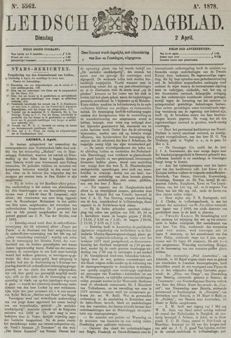 Leidsch Dagblad 1878-04-02