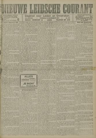 Nieuwe Leidsche Courant 1921-11-15