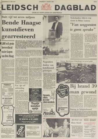 Leidsch Dagblad 1977-05-12