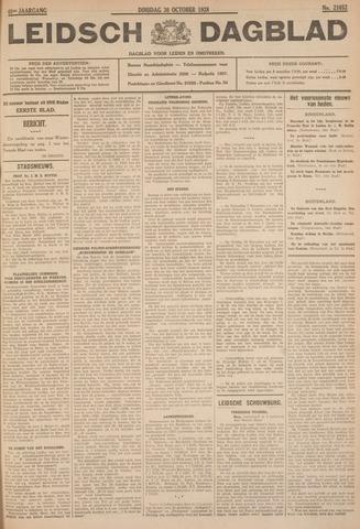Leidsch Dagblad 1928-10-30
