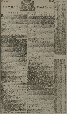 Leydse Courant 1749-03-28