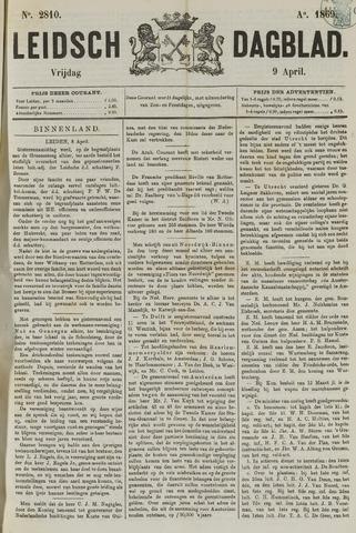 Leidsch Dagblad 1869-04-09