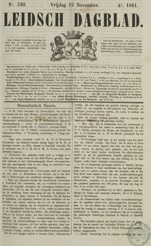 Leidsch Dagblad 1861-11-15