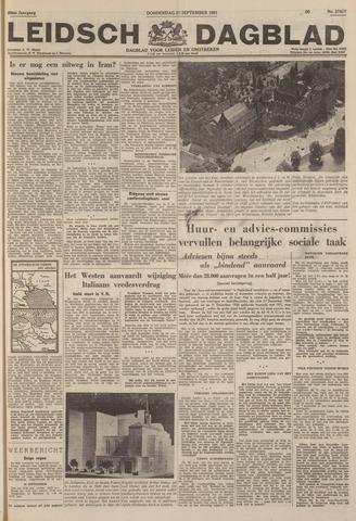 Leidsch Dagblad 1951-09-27