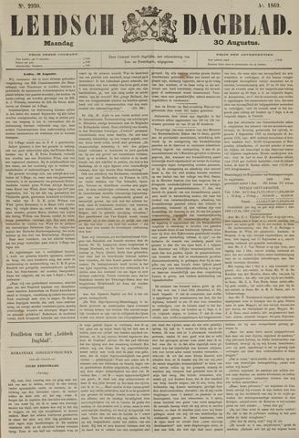 Leidsch Dagblad 1869-08-30