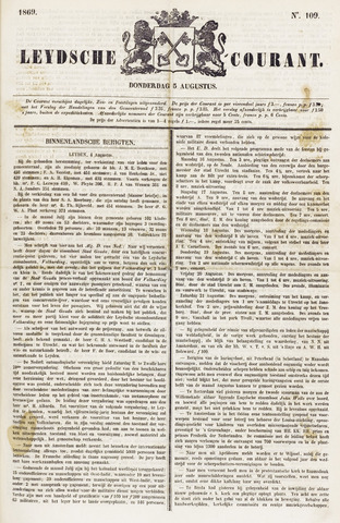 Leydse Courant 1869-08-05