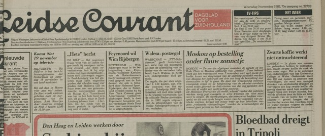 Leidse Courant 1983-11-09