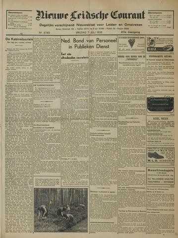 Nieuwe Leidsche Courant 1939-07-07