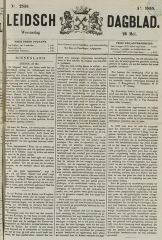 Leidsch Dagblad 1869-05-26